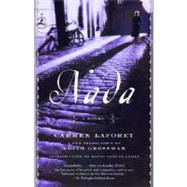 Nada by LAFORET, CARMENLLOSA, MARIO VARGAS, 9780812975833
