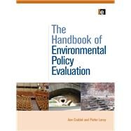 The Handbook of Environmental Policy Evaluation by Crabb,Ann, 9781138975835