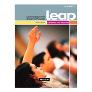 LEAP (Learning English for Academic Purposes) High Intermediate, Listening and Speaking with My eLab by Beatty, Ken, 9782761345835