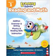 Learning Express Reading and Math Jumbo Workbook Grade 1 by Scholastic Teaching Resources, 9789810775841