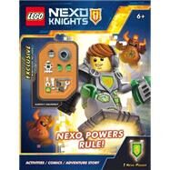 NEXO Powers Rule! (LEGO NEXO Knights: Activity Book with minifigure) by Unknown, 9780545905848