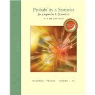 Probability & Statistics for Engineers & Scientists, MyLab Statistics  Update by Walpole, Ronald E.; Myers, Raymond H.; Myers, Sharon L.; Ye, Keying E., 9780134115856