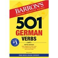 501 German Verbs by Strutz, Henry, 9781438075860