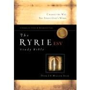 The Ryrie ESV Study Bible Calfskin Leather Black Red Letter Indexed by Ryrie, Charles C., 9780802475862