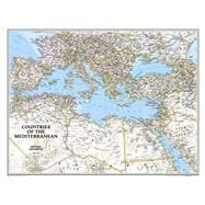 Countries of the Mediterranean Classic by National Geographic Maps, 9781597755863