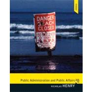 Public Administration and Public Affairs by Henry; Nicholas, 9780205855865