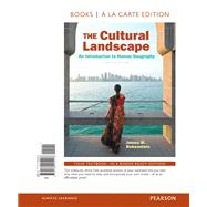 The Cultural Landscape An Introduction to Human Geography, The, Books a la Carte Plus MasteringGeography with Pearson eText -- Access Card Package by Rubenstein, James M., 9780134285870