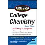 Schaum's Easy Outlines of College Chemistry, Second Edition by Rosenberg, Jerome; Epstein, Lawrence; Krieger, Peter, 9780071745871