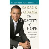 The Audacity of Hope by OBAMA, BARACK, 9780307455871