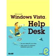 Microsoft Windows Vista Help Desk by Walker, Andy Edward, 9780789735874