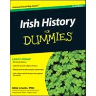Irish History For Dummies by Cronin, Mike, 9781119995876