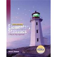 Elementary Statistics: A Step By Step Approach with MathZone and Smart CD by Bluman, Allan G., 9780073215877