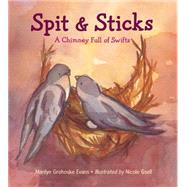 Spit & Sticks: A Chimney Full of Swifts by Evans, Marilyn Grohoske; Gsell, Nicole, 9781580895880