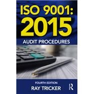 ISO 9001:2015 Audit Procedures by Tricker; Ray, 9781138025882