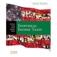 South-Western Federal Taxation 2018 - Individual Income Taxes (with H&R Block™ Premium & Business Access Code for Tax Filing Year 2016 & RIA Checkpoint® 1 term (6 months) Printed Access Card) by Hoffman, 9781337385886