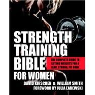 Strength Training Bible for Women by KIRSCHEN, DAVIDSMITH, WILLIAM, 9781578265886