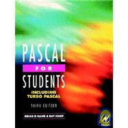 Pascal for Students (including Turbo Pascal) by Kemp; Hahn, 9780340645888