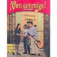 Ven Conmigo!: Holt Spanish Level 1