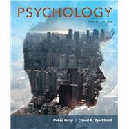 Psychology by Gray, Peter O.; Bjorklund, David F., 9781319015893