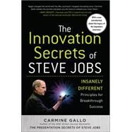 The Innovation Secrets of Steve Jobs: Insanely Different Principles for Breakthrough Success by Gallo, Carmine, 9781259835896