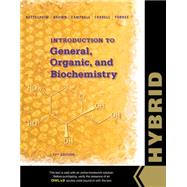 Introduction to General, Organic and Biochemistry, Hybrid Edition (with OWLv2 with MindTap Reader, 4 terms (24 months) Printed Access Card) by Bettelheim, Frederick A.; Brown, William H.; Campbell, Mary K.; Farrell, Shawn O.; Torres, Omar, 9781305105898