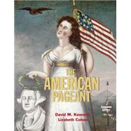 American Pageant, 16th by Kennedy/Cohen, 9781305075900