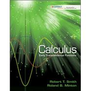 Student Solutions Manual for Calculus: Early Transcendental Functions by Smith, Robert T, 9780077235901
