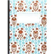 Lucha Libre Large 2 Color Decomposition Ruled Book by Roger, Michael, 9781589445901