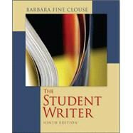 The Student Writer by Clouse, Barbara Fine, 9780073405902