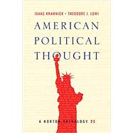 American Political Thought by Kramnick, Isaac; Lowi, Theodore J., 9780393655902