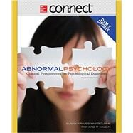 Abnormal Psychology with DSM-5 Update with Connect Access Card by Whitbourne, Susan Krauss, 9781259665905