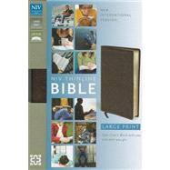 Holy Bible: New International Version, Brown Bonded Leather, Thinline by , 9780310435907