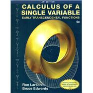Calculus of a Single Variable, 6th Edition by Larson/Edwards, 9781285775913