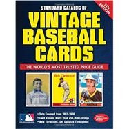 Standard Catalog of Vintage Baseball Cards by Bartsch, Tom, 9781440245916