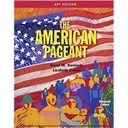 American Pageant, AP® Edition by Kennedy; Cohen, 9781305075917