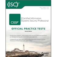 Cissp Official Isc 2 Practice Tests by Chapple, Mike; Seidl, David, 9781119475927