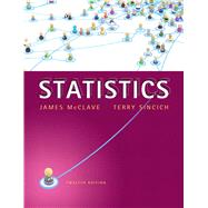 Statistics by McClave, James T.; Sincich, Terry T, 9780321755933