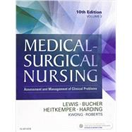 Medical-Surgical Nursing - 2-Volume Set: Assessment and Management of Clinical Problems, 10e by Lewis, Sharon L., R.N., Ph.D.; Bucher, Linda, R.N., Ph.D.; Heitkemper, Margaret McLean, R.N., Ph.D., 9780323355933