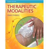 Therapeutic Modalities by Starkey, Chad, 9780803625938