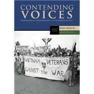 Contending Voices, Volume II: Since 1865 by Hollitz, John, 9781305655942