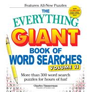 The Everything Giant Book of Word Searches by Timmerman, Charles, 9781440595943