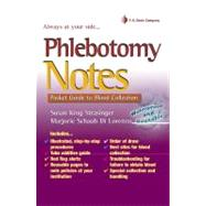 Phlebotomy Notes: Pocket Guide to Blood Collection by Strasinger, Susan King, 9780803625945