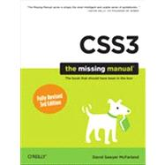 CSS: The Missing Manual by McFarland, David Sawyer, 9781449325947