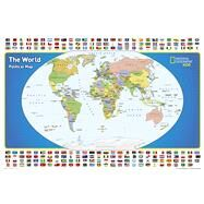 National Geographic the World for Kids Map by National Geographic Maps - Reference, 9781597755948