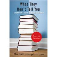 What They Don't Tell You by Brown, Michael Joseph, 9780664235949