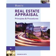 Basic Real Estate Appraisal (with Student CD-ROM) by Betts,Richard M., 9781133495949