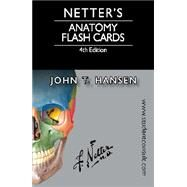 Netter's Anatomy Flash Cards: With Online Student Consult Access by Hansen, John T., 9780323185950