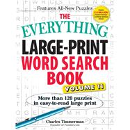 The Everything Large-Print Word Search Book by Timmerman, Charles, 9781440595950