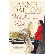 Written in Red by Dalton, Annie, 9780727885951
