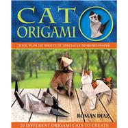 Cat Origami by Diaz, Roman, 9781626865952